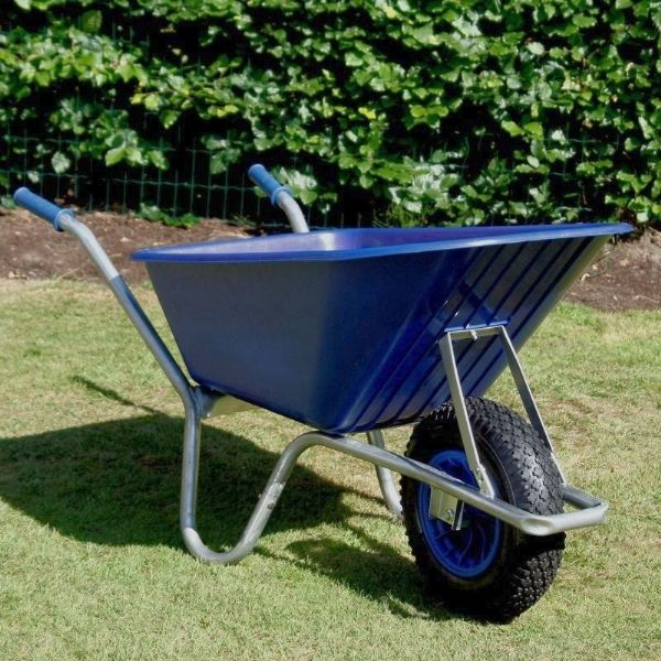 County Cruiser Wheelbarrow | Garden Wheelbarrow Blue Tray